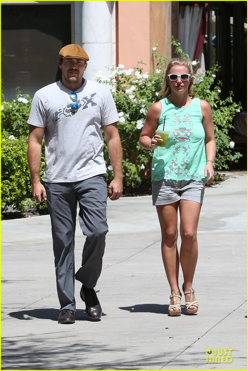 britney spears david lucado spend precious time together 13