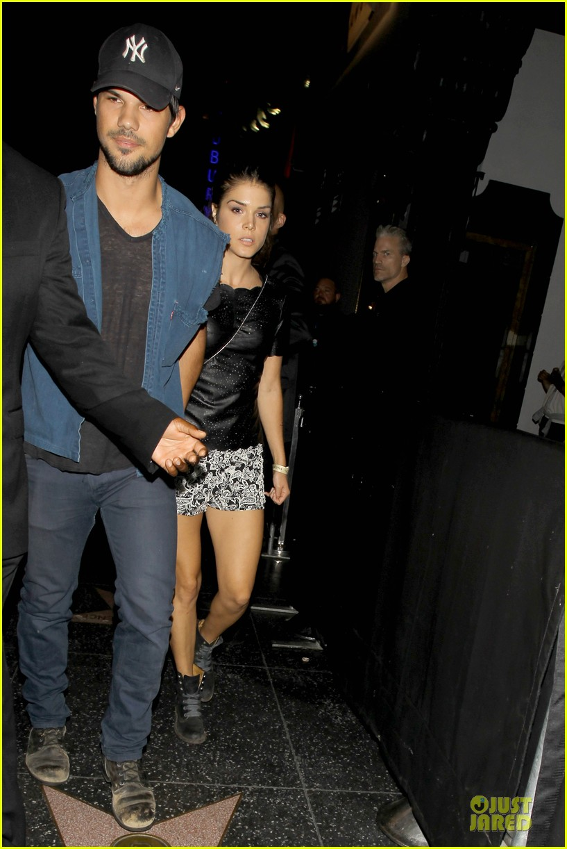 taylor lautner marie avgeropoulos strong hollywood 11