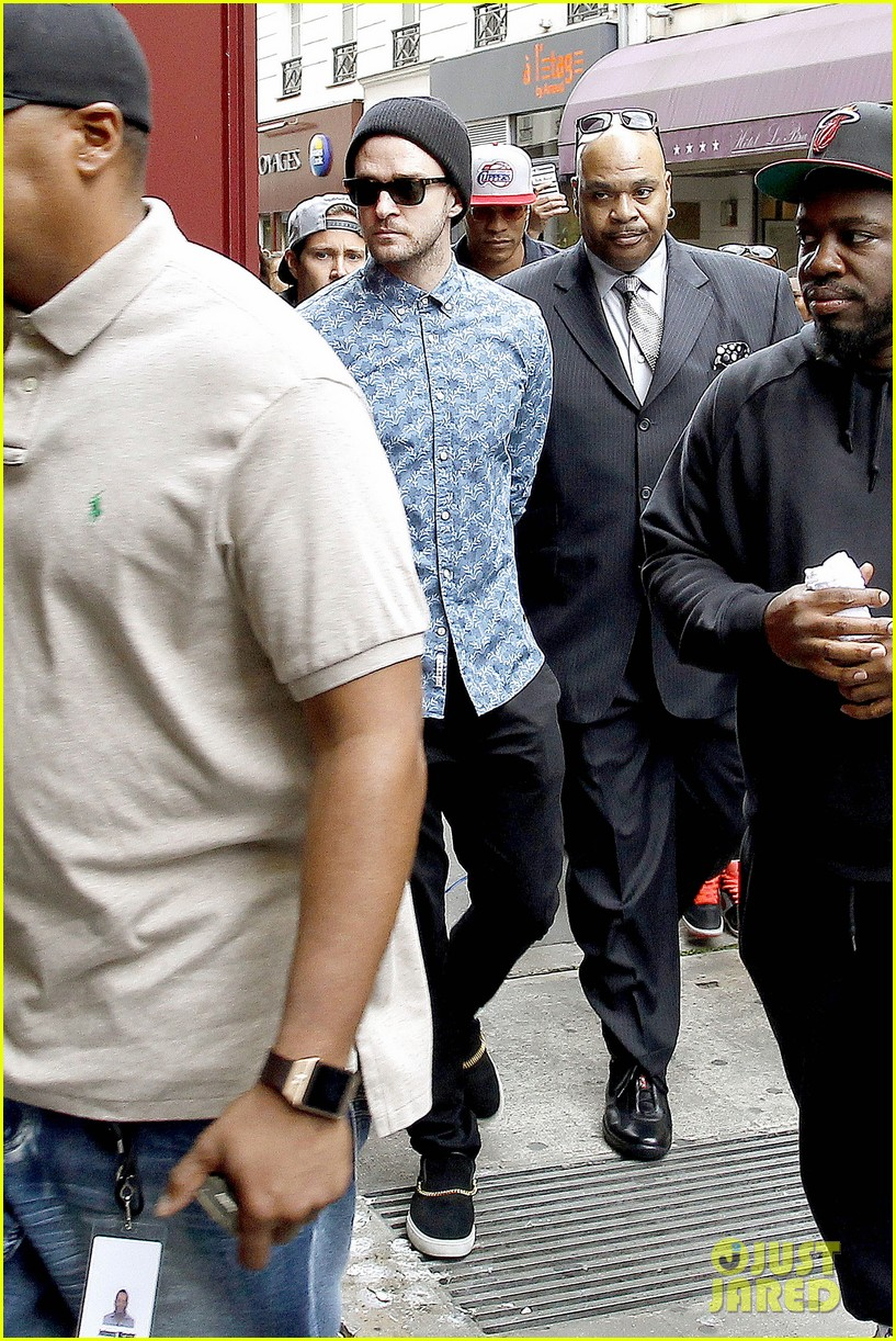 justin timberlake steps out after sending controversial madonna tweet 05