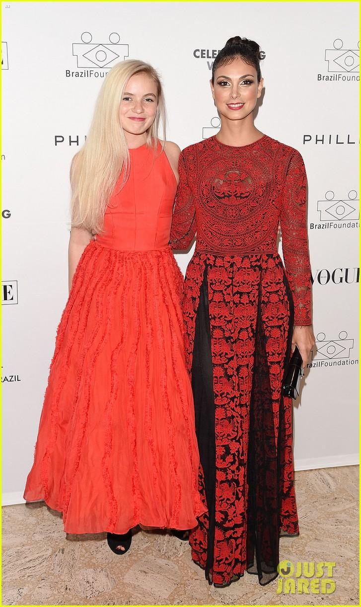 Morena Baccarin & Morgan Saylor: Brazil Foundation Gala in