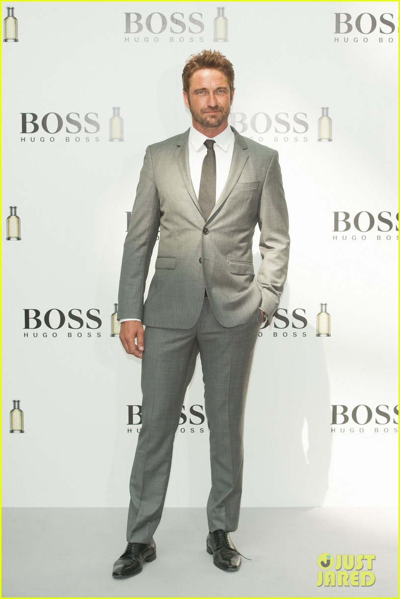 gerard butler unveiled as face of boss bottled 053187713