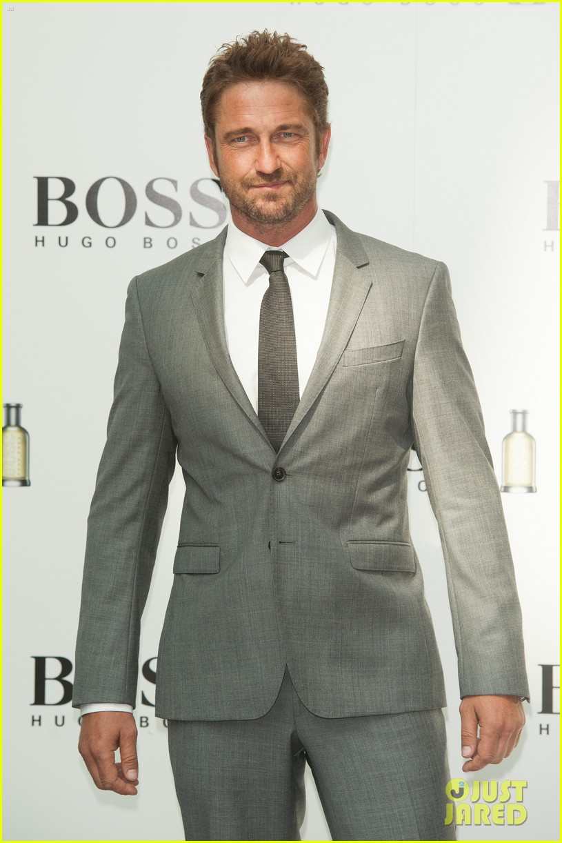 gerard butler unveiled as face of boss bottled 11