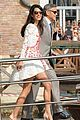 george clooney amal alamuddin post wedding italy 13