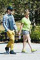 hayden christensen asys goodbye mom hike together 01