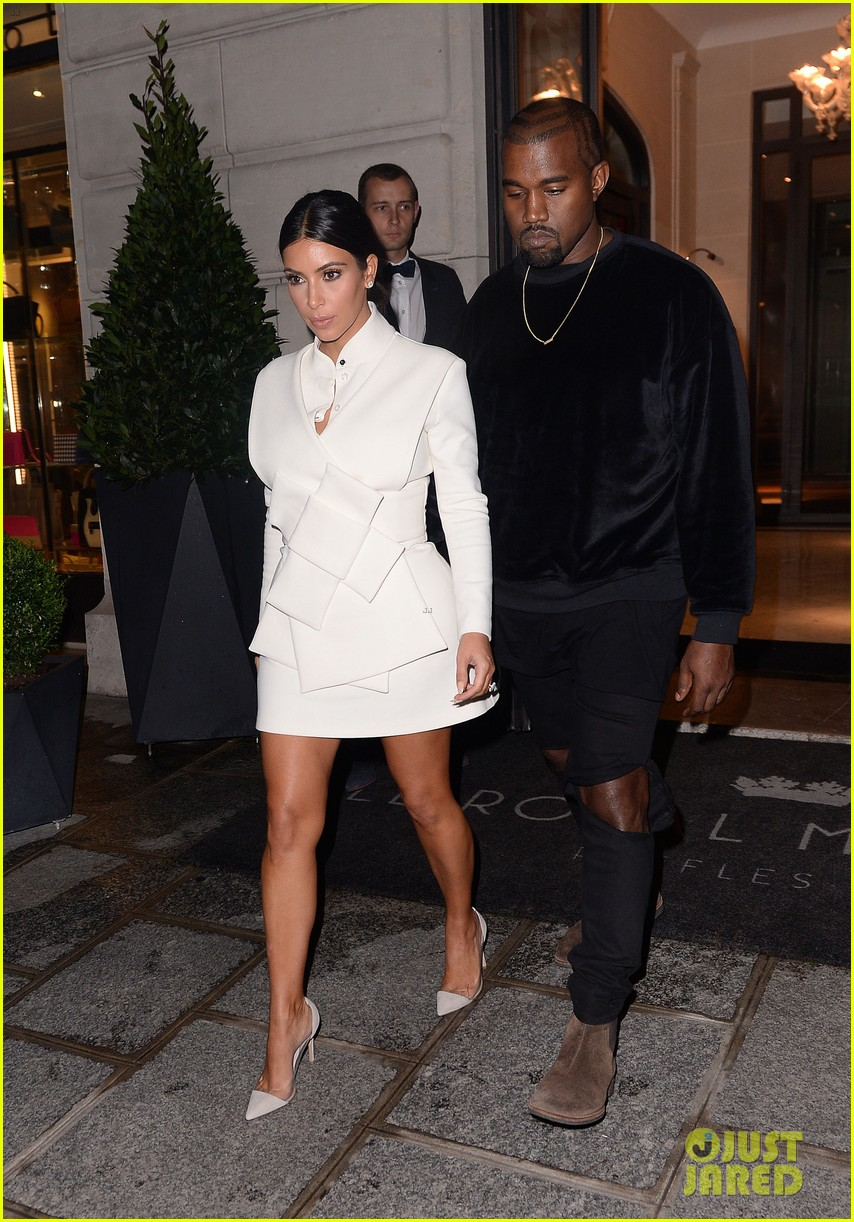 Kim Kardashian & Kanye West Can't Stop Smiling After North's Fashion ... Kanye West