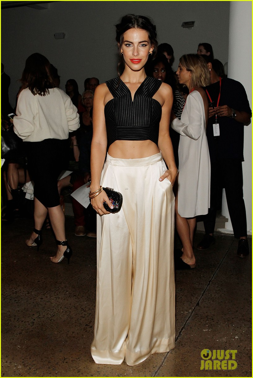 katie cassidy jessica lowndes houghton fashion show 2014 09