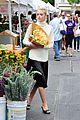 jaime king beautiful as flower at farmers market 05