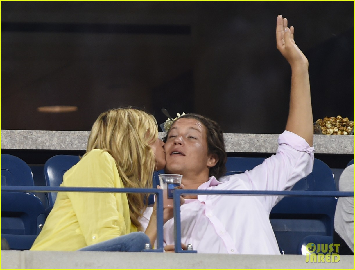 mary kate olsen heidi klum bring they significant others to us open 03