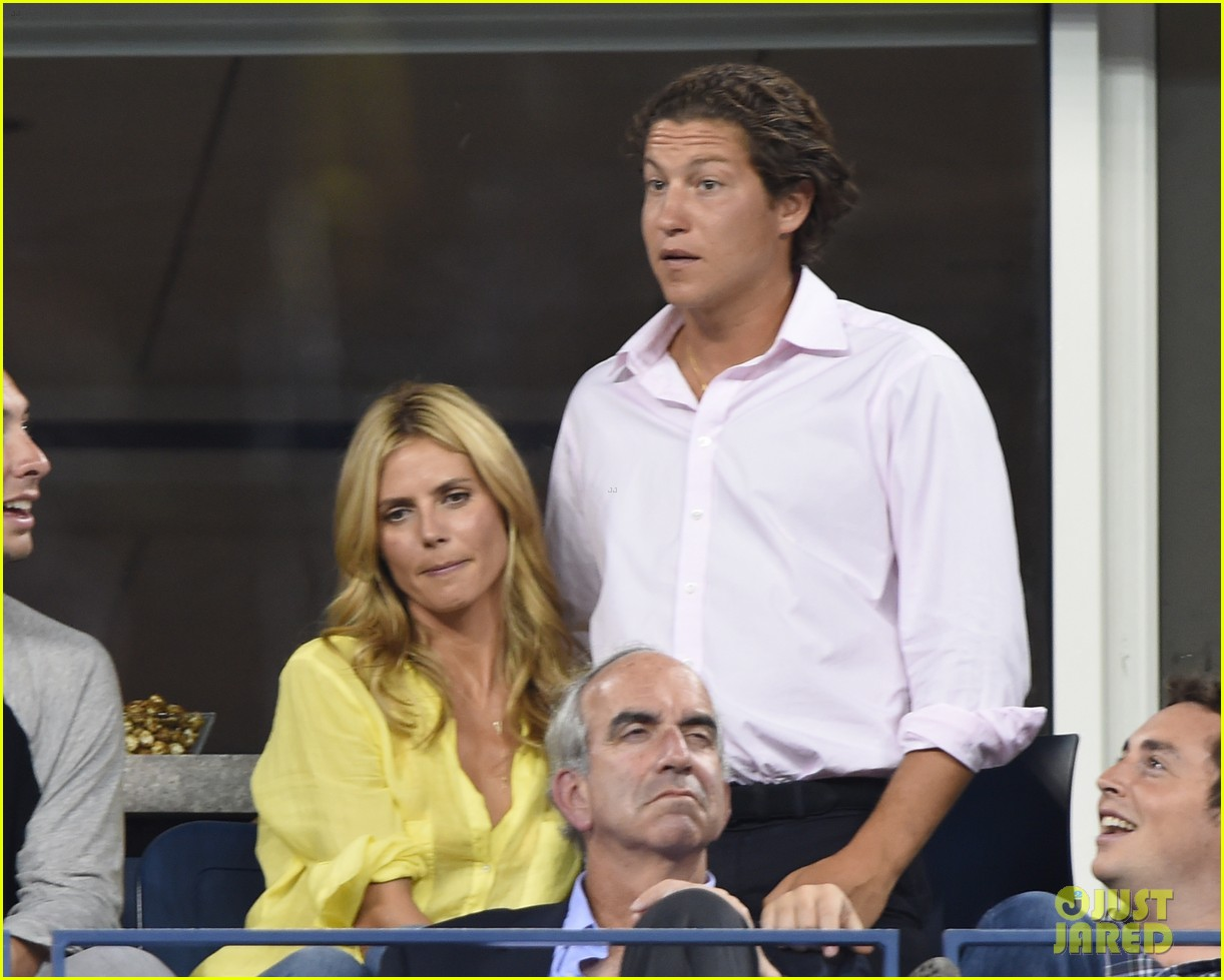 mary kate olsen heidi klum bring they significant others to us open 24