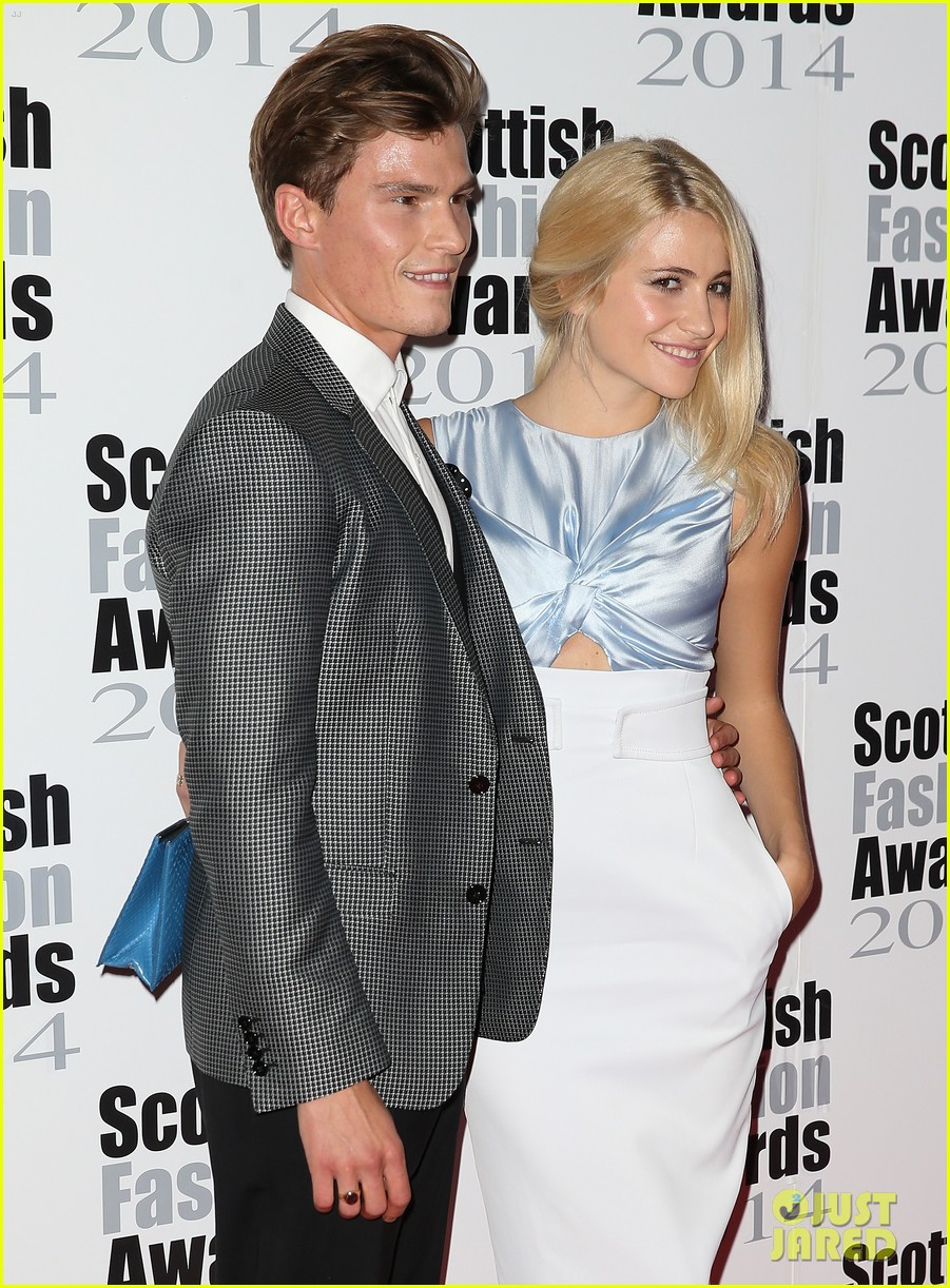 pixie lott oliver chesire scottish fashion awards 03