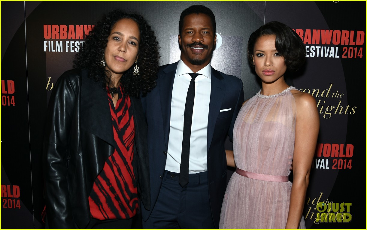 Photo of Gugu Mbatha-Raw & her friend  Nate Parker  - Los Angeles