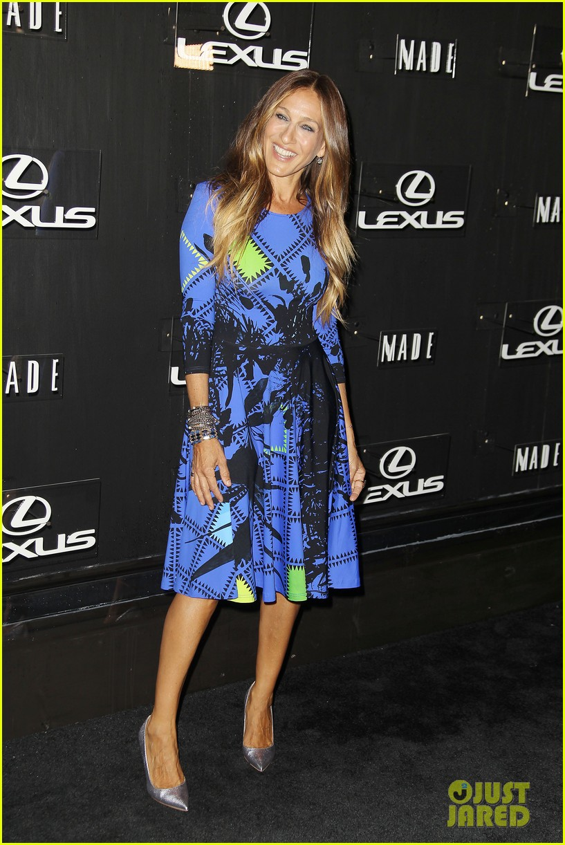 sarah jessica parker disrupts the design with lexus 10