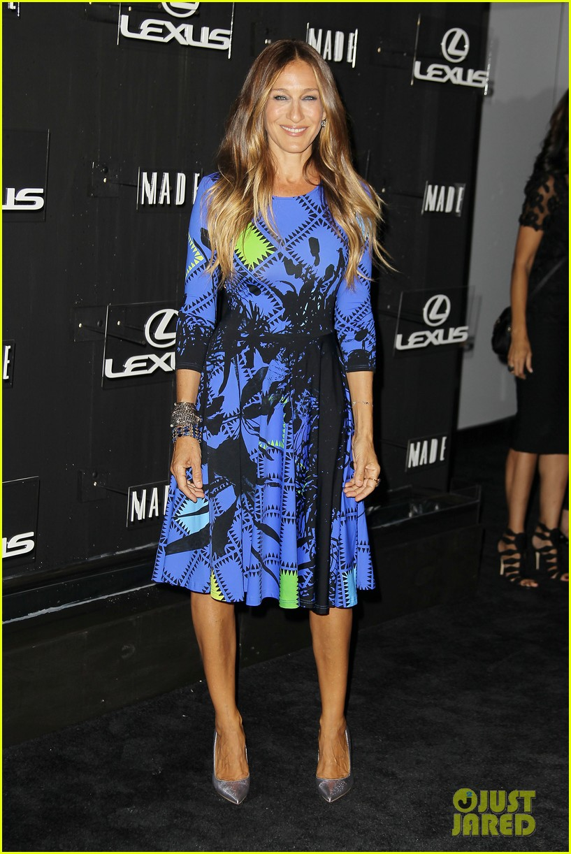 sarah jessica parker disrupts the design with lexus 133189631