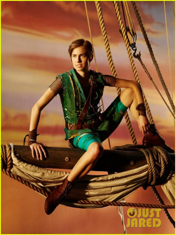 allison williams as peter pan first look photo 01