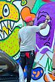 chris brown paints the town in miami 13