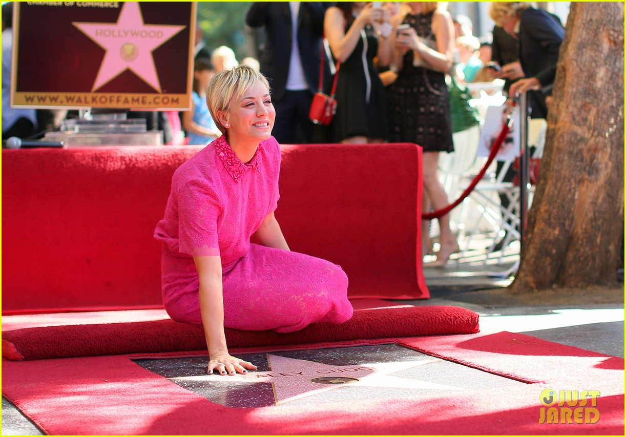 Kaley Cuoco Receives a Star on the Hollywood Walk of Fame ...