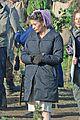 catherine zeta jones purple hairnet dads army 05