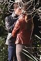jamie dornan dakota johnson kiss in the woods 09