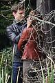 jamie dornan dakota johnson kiss in the woods 13