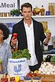 josh duhamel helps fight childhood hunger with shareameal project 18