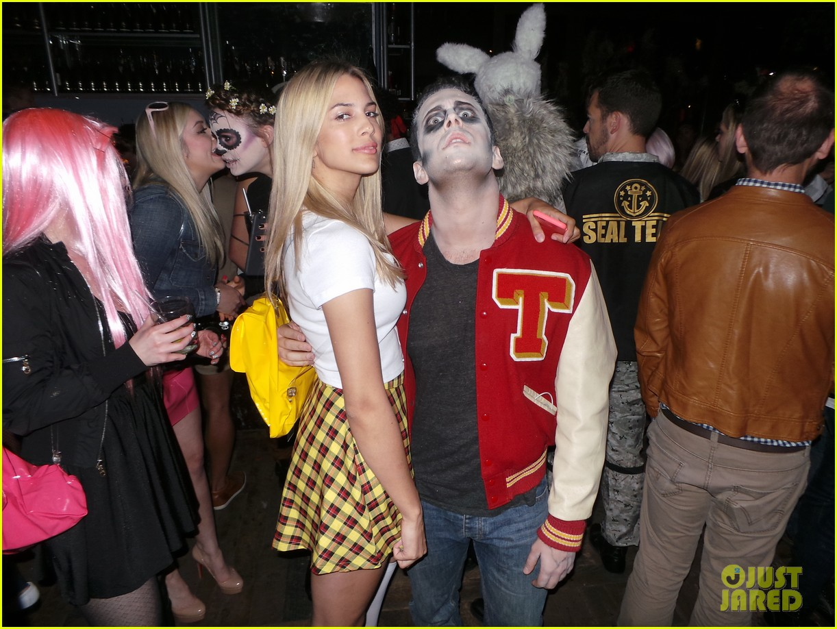 Colton Haynes & Lucy Hale Bring Their Costume A-Game to a ...