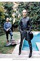 tokio hotels bill kaulitz rocks leather for interview germany 01