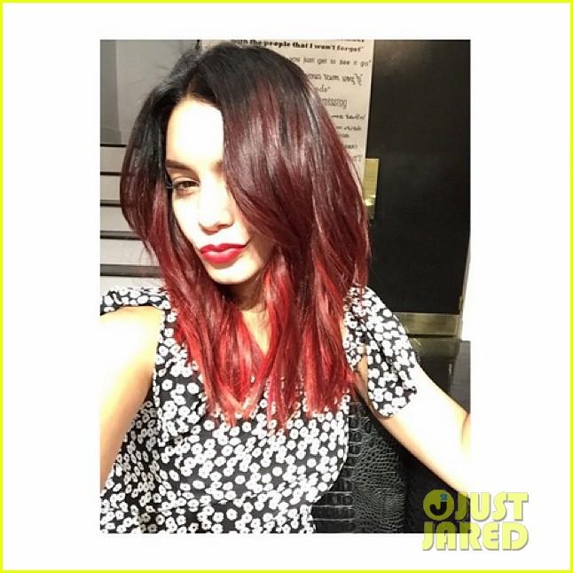 vanessa hudgens red hair 00