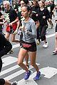 jamie chung runs marathon in paris 01