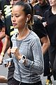 jamie chung runs marathon in paris 04