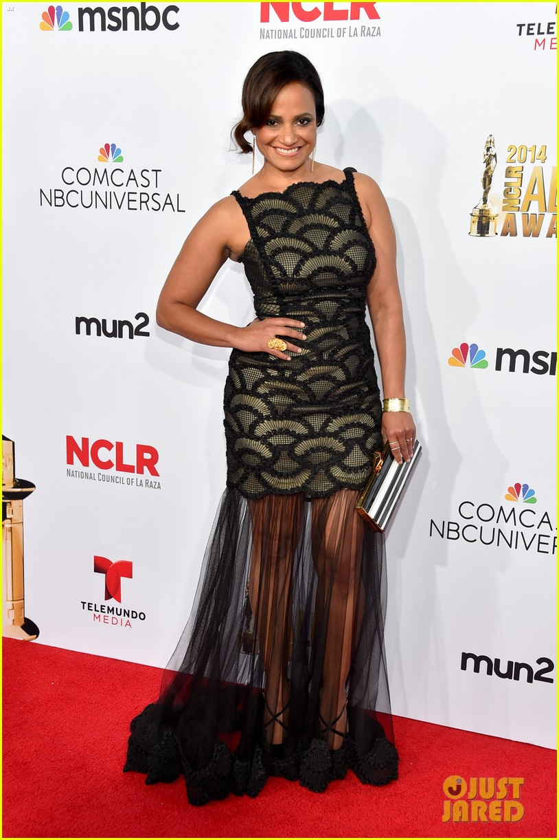 Full Sized Photo of eva longoria two dress at alma awards ... Eva Longoria