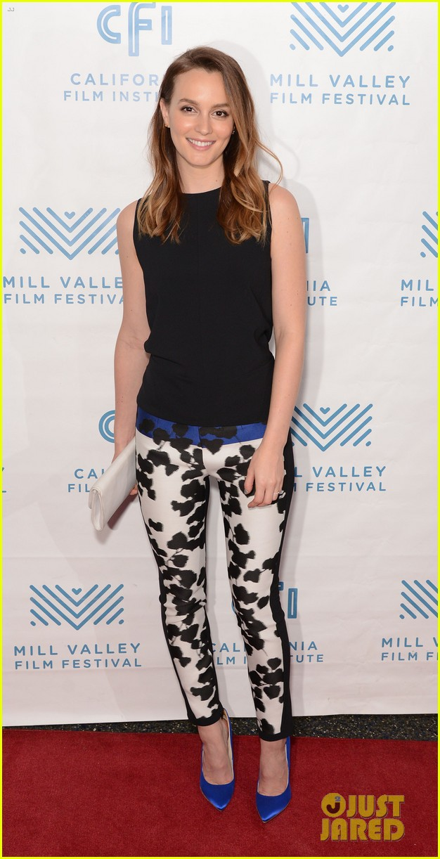 leighton meester hits mill valley for like sunday like rain premiere 033212918