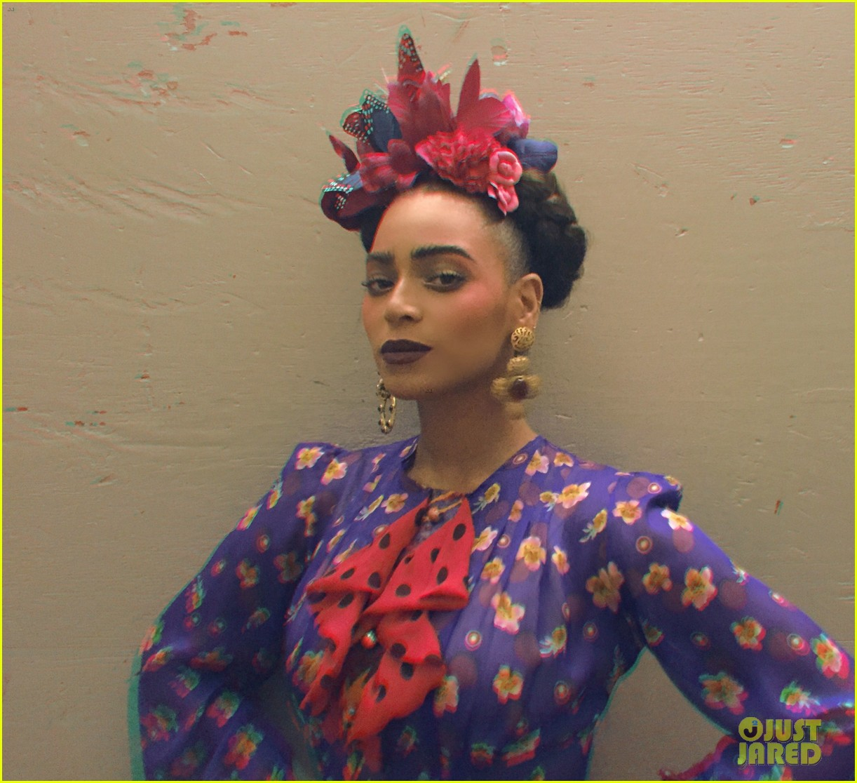 beyonce stuns as frida kahlo for second halloween costume photo 3234689 2014 halloween beyonce knowles blue ivy carter celebrity babies - Oprah Winfrey Halloween Costume