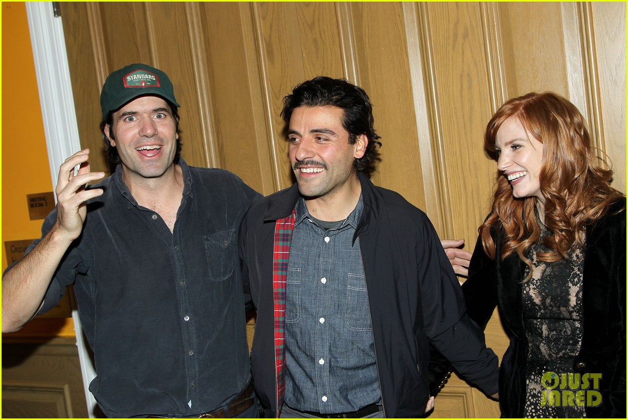 jessica chastain oscar isaac open up about bad auditions for a most violent year 163250196