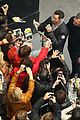 hugh jackman greets fans after preview performance 04