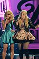 miranda lambert sings with meghan trainor at cma awards 2014 05