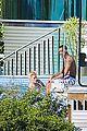 justin bieber goes shirtless at beverly hills mansion 24
