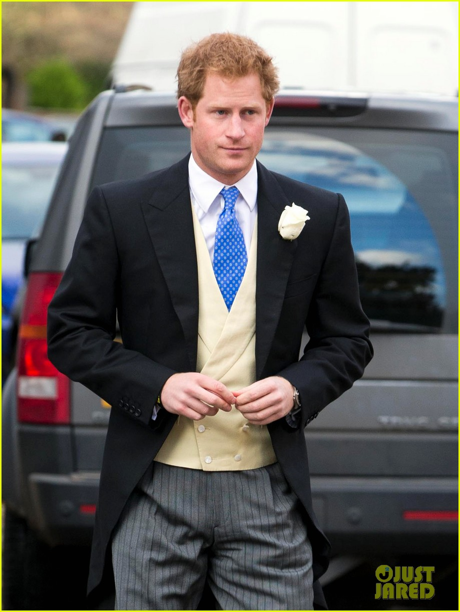 Prince Harry Is A Royal Attending His Friend S Wedding
