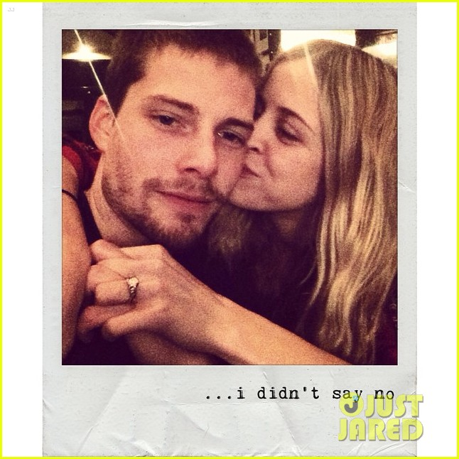 Full Sized Photo of hunter parrish engaged to kathryn wahl ...