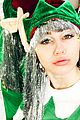 miley cyrus dressed up for christmas elfies 02