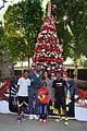 gabrielle union dwyane wade get their charity on at santas enchanted 05