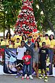 gabrielle union dwyane wade get their charity on at santas enchanted 09