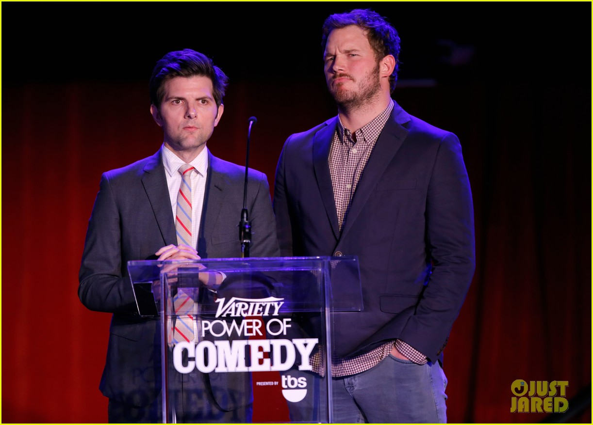 chris pratt adam scott variety 263260795