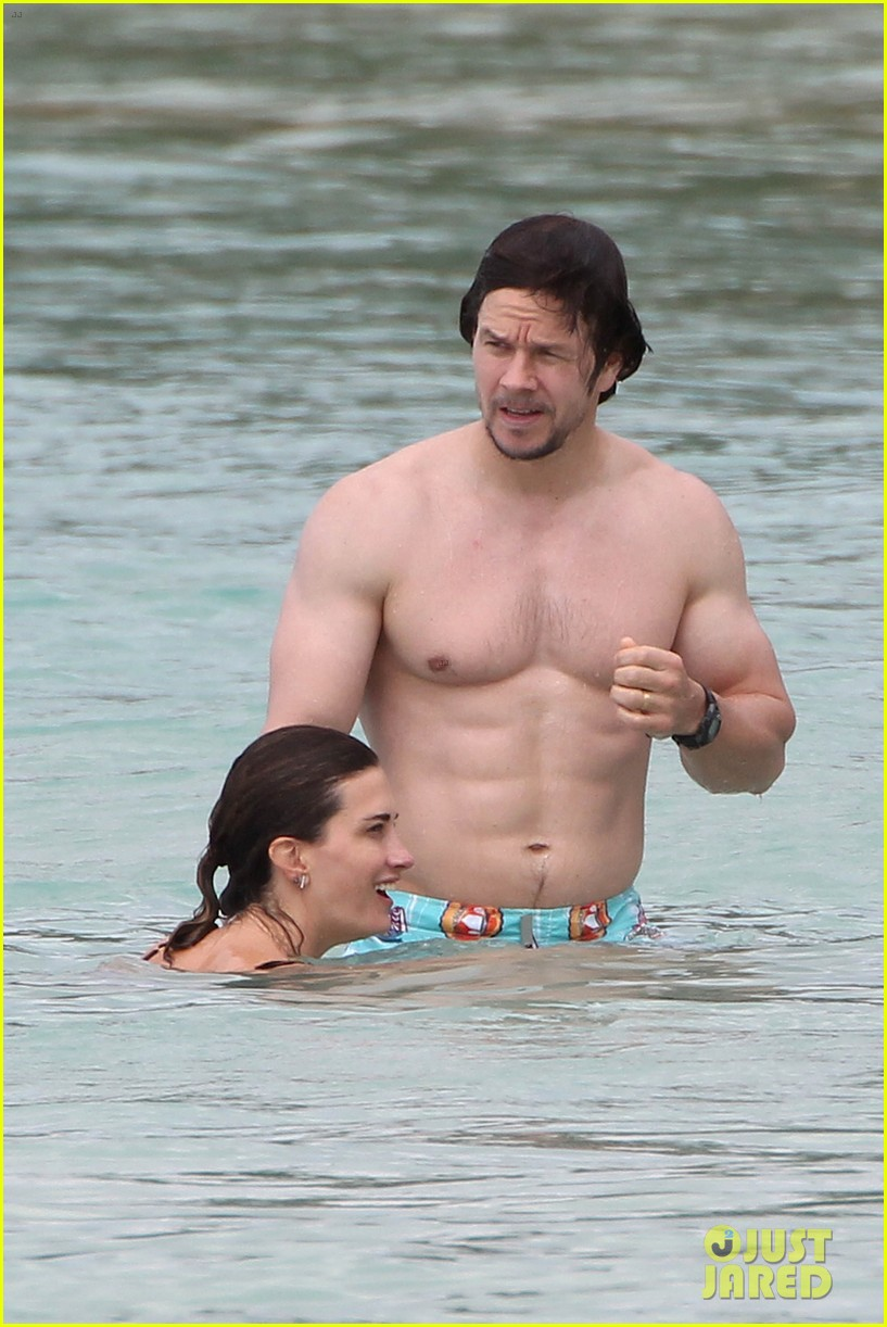 wyfe butt Mark Wahlberg Flashes Butt to Wife Rhea Durham in the Ocean!: Photo 3269308  | Bikini, Mark Wahlberg, Rhea Durham, Shirtless Pictures | Just Jared