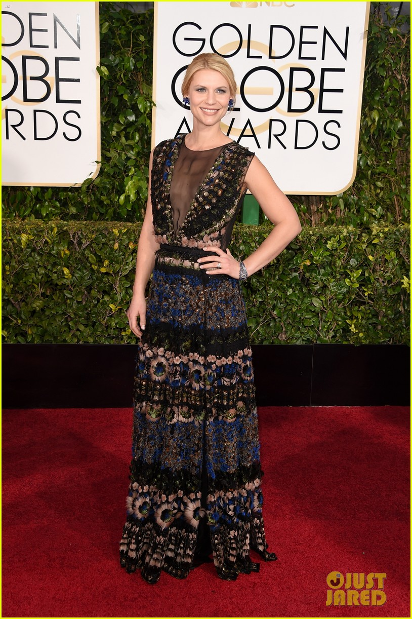 Full Sized Photo of claire danes golden globes 2015 05 | photofull ...