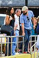 leonardo dicaprio hangs with pretty brunette after beach day 01