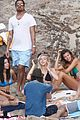 leonardo dicaprio continues st barts trip surrounded by women 21