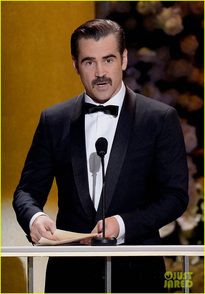 Colin Farrell's Mustache Gets the Web Buzzing at SAG Awards 2015 ...
