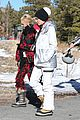 gwen stefani skiing mammoth first day of year 09