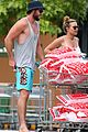 liam hemsworth paints his toenails the colors of the rainbow 11