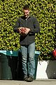 taylor kitsch gets ready for super bowl on true detective set 05